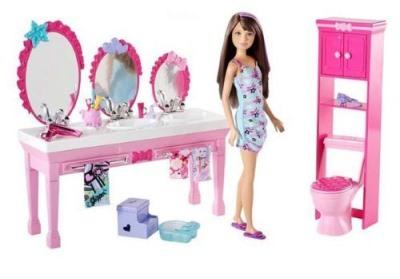 Barbie Badezimmer - puppenhaus-aktuell.de